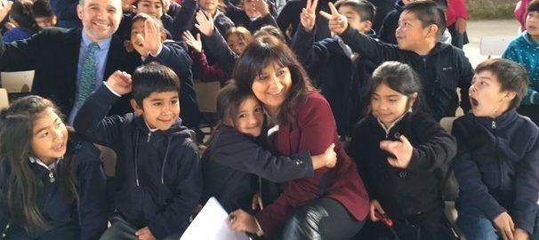 niños escuela vega redonda vilcún
