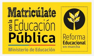 Matriculate con la Ed Pública
